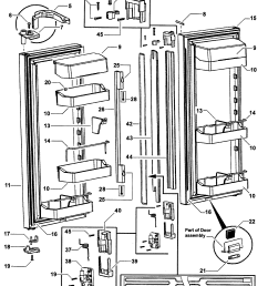 fisher paykel refrigerator wiring diagram wiring schematic diagramfisher paykel model rf201adux 22302a bottom mount refrigerator fisher [ 1935 x 2334 Pixel ]