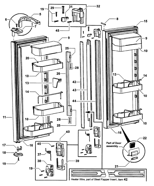 small resolution of fisher paykel refrigerator wiring diagram wiring schematic diagramfisher paykel model rf201adux 22302a bottom mount refrigerator fisher