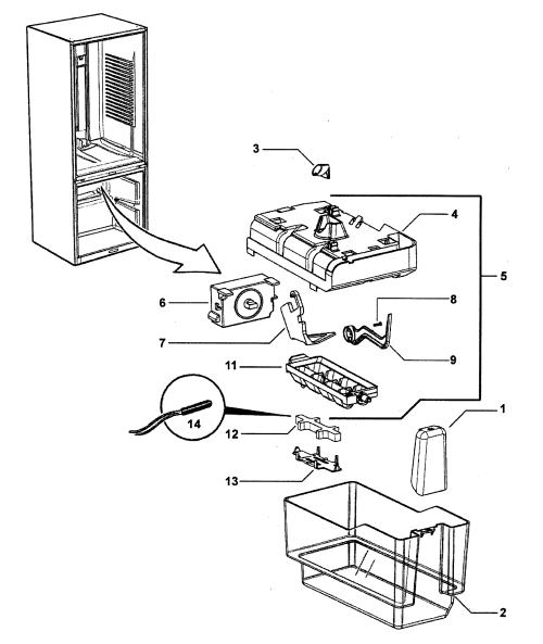 Kenmore Refrigerator Schematic Diagram 04670603000. . Wiring ... on