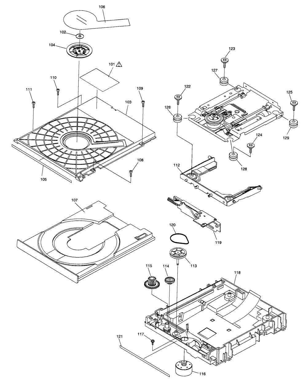 medium resolution of panasonic dmp bd80p dvd mechanism diagram