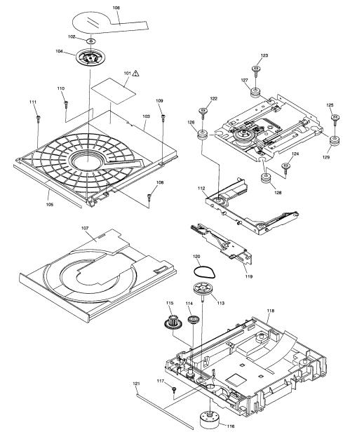 small resolution of panasonic dmp bd80p dvd mechanism diagram