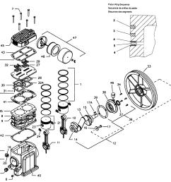 ingersoll rand model ss5l5 air compressor genuine parts [ 2307 x 2028 Pixel ]