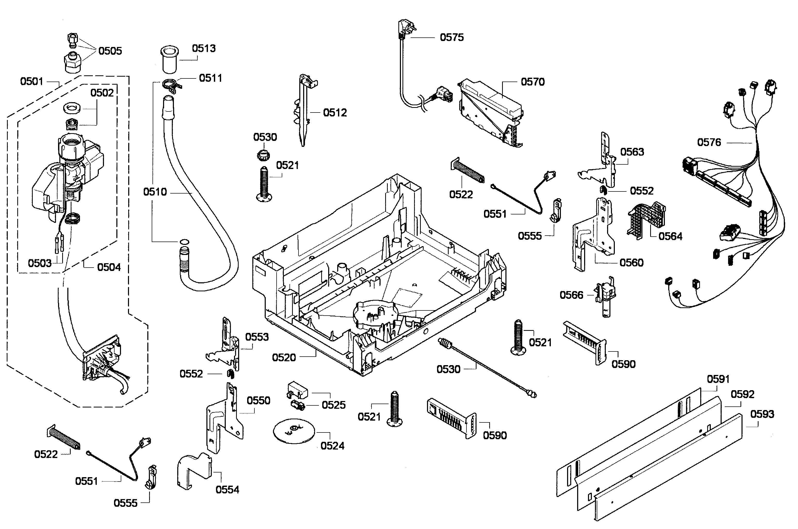 Bosch Dishwasher Parts: Bosch Dishwasher Parts Manual