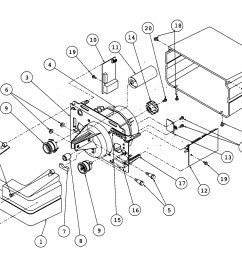 genie is900 1 motor assy diagram [ 2195 x 1530 Pixel ]