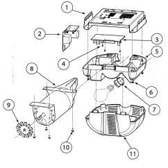 Garage Door Opener Parts Diagram Delco Am Fm Radio Wiring Genie Model Isd995 Sears Partsdirect