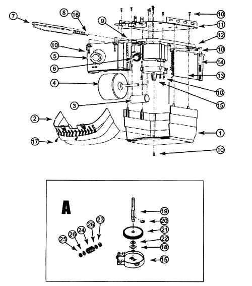 small resolution of looking for genie model gcg350l garage door opener repair replacement parts