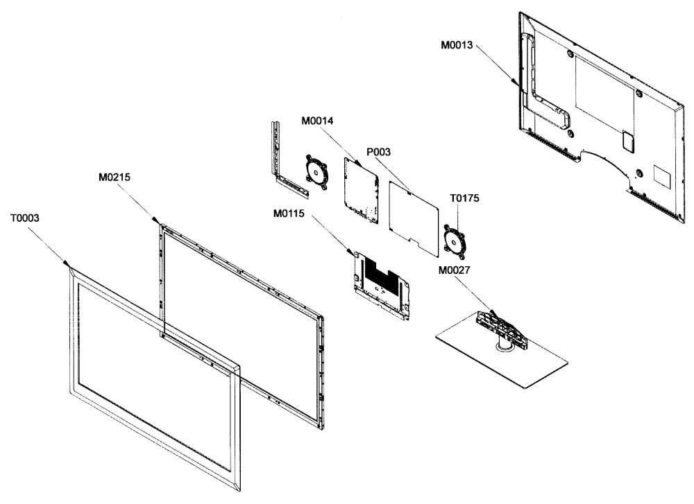 medium resolution of samsung un46b8000xfxza lcd tv diagram