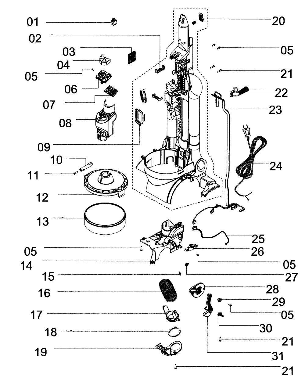 Dyson Wiring Diagram - shark navigator wiring diagram dyson ... on