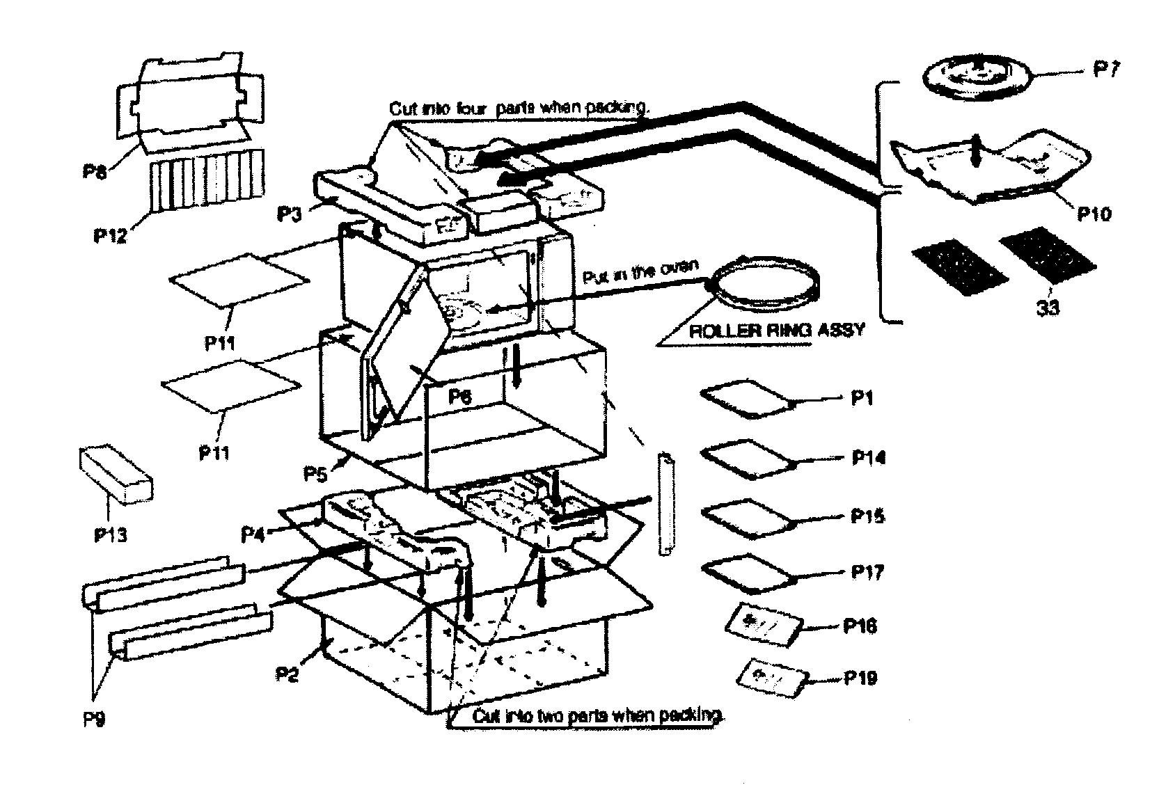 Panasonic Microwave Replacement Parts