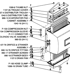 generalaire 1042 3 humidifier damper embly attached images find  [ 1423 x 1167 Pixel ]