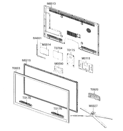 looking for samsung model un55c6500vfxza lcd television repair led tv parts diagram [ 1821 x 1830 Pixel ]
