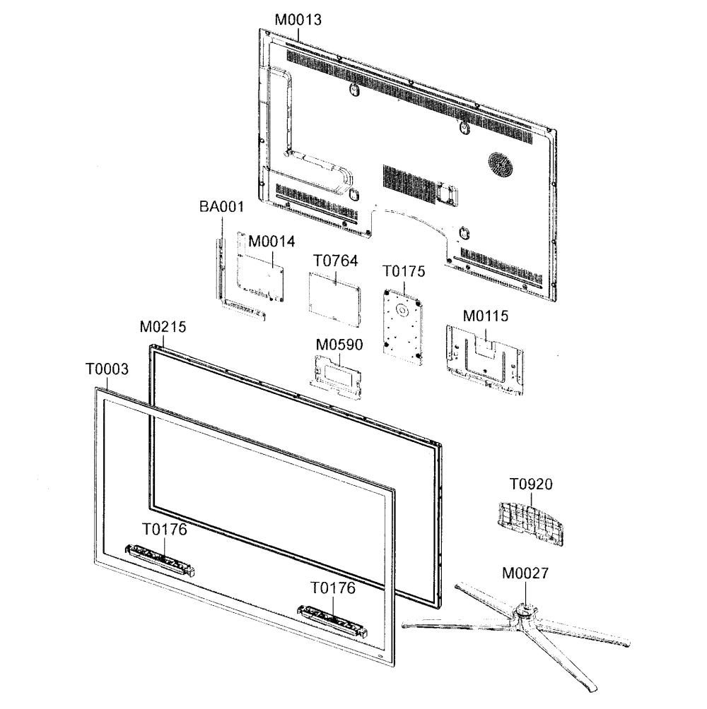 medium resolution of looking for samsung model un55c6500vfxza lcd television repair led tv parts diagram