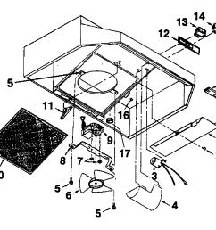 broan 413002 range hood diagram [ 1199 x 947 Pixel ]