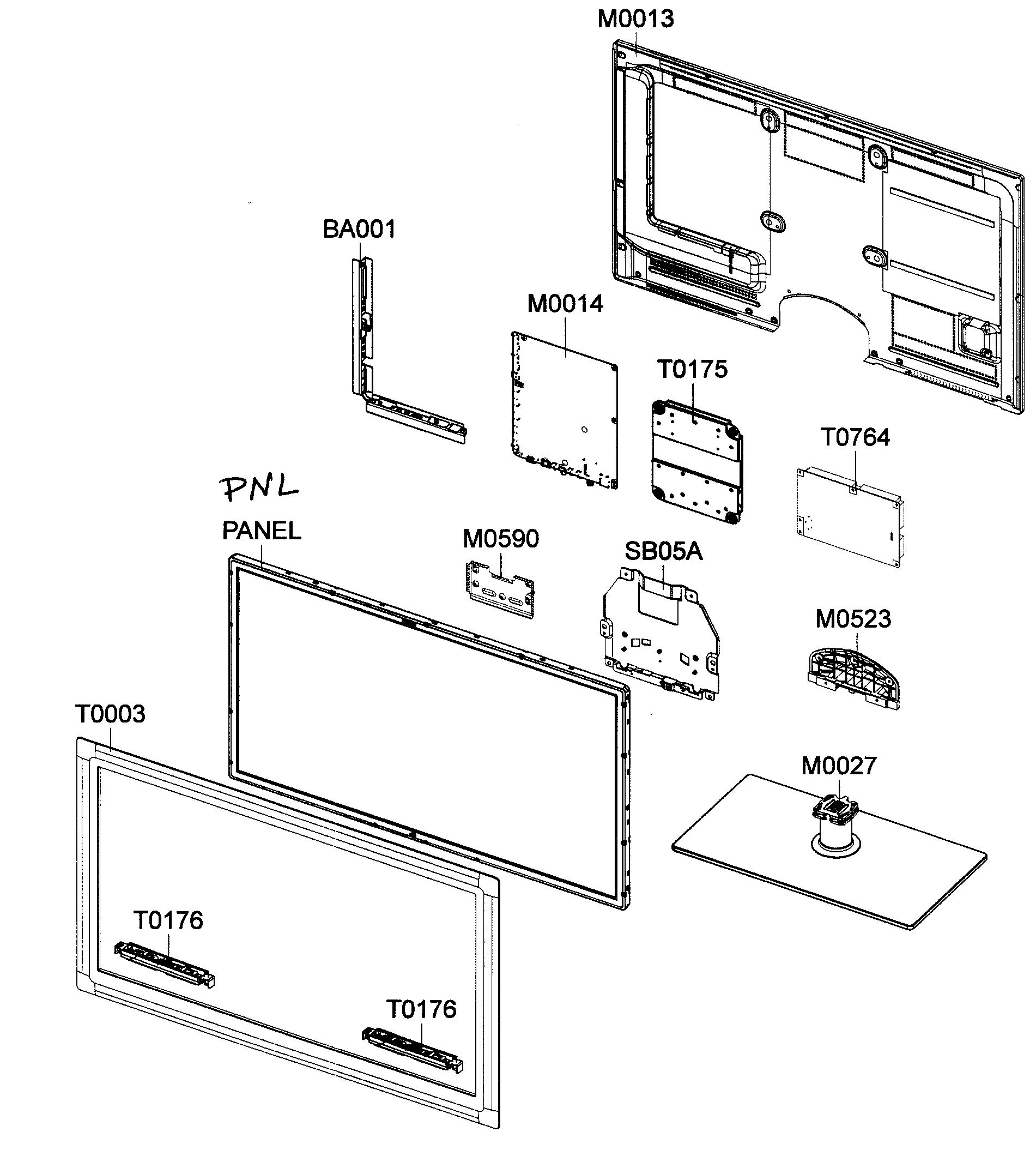 Led Tv Parts Diagram, Led, Free Engine Image For User