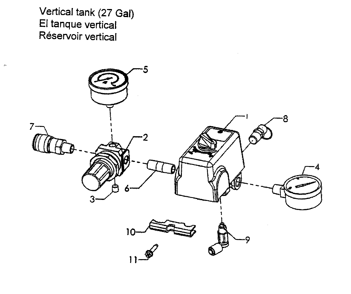 Craftsman pressor parts model 92116474 sears partsdirect wiring diagram