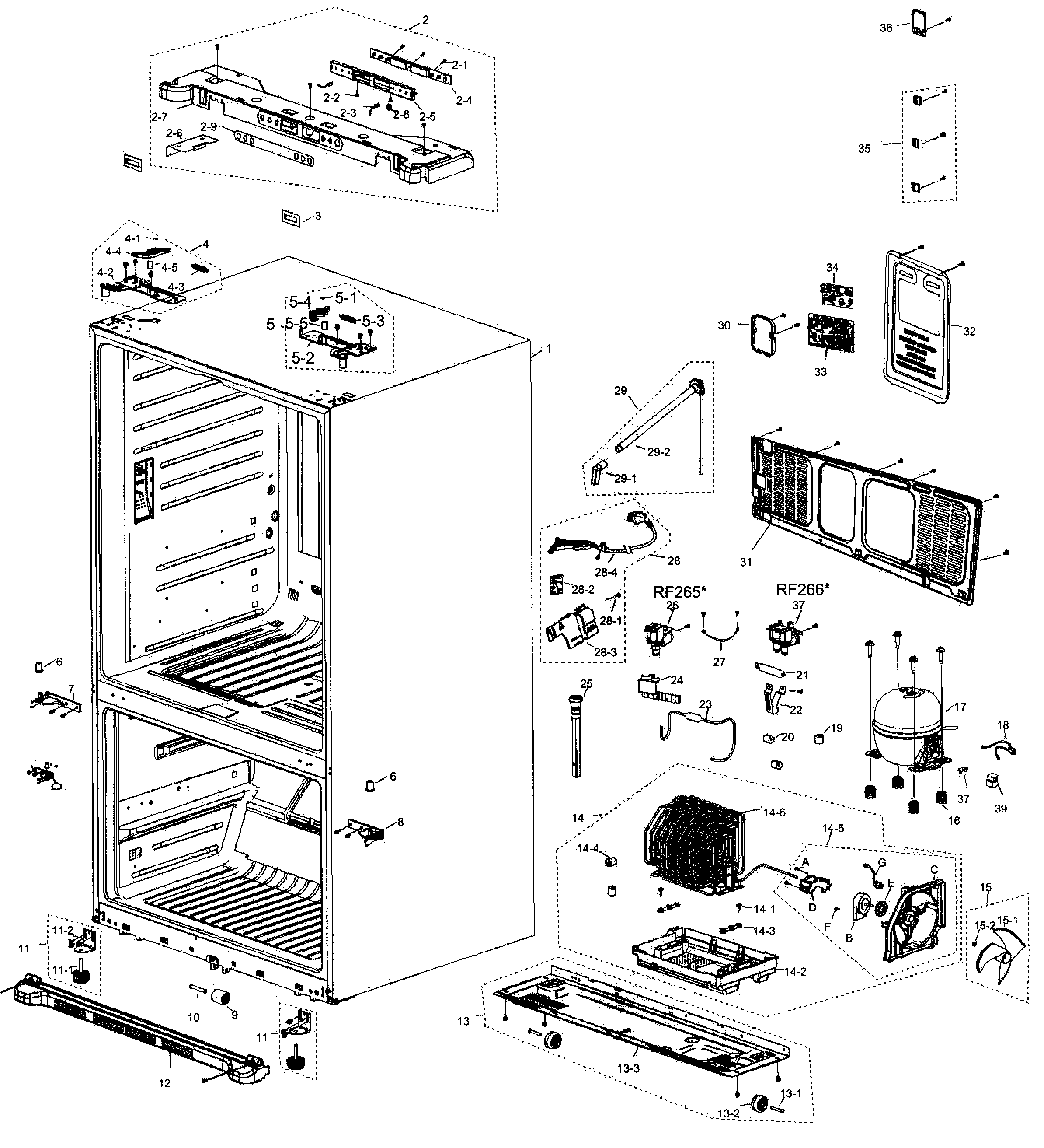 Refrigerators Parts: Refrigerator Replacement Parts