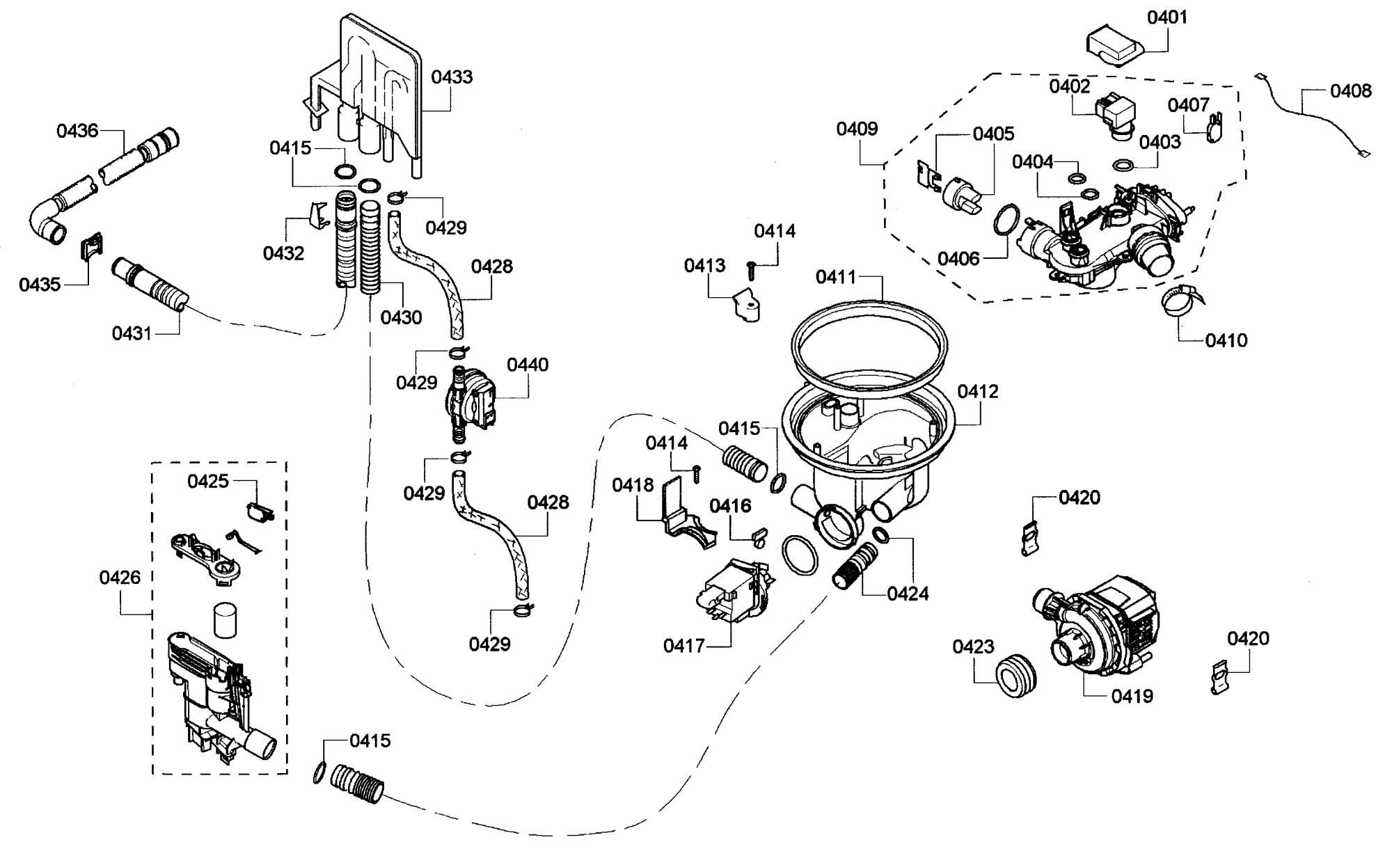 hight resolution of bosch s45kmk15uc 60 pump diagram