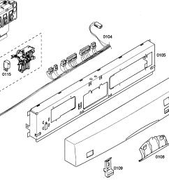 bosch she43m05uc 50 control panel diagram [ 2800 x 1861 Pixel ]