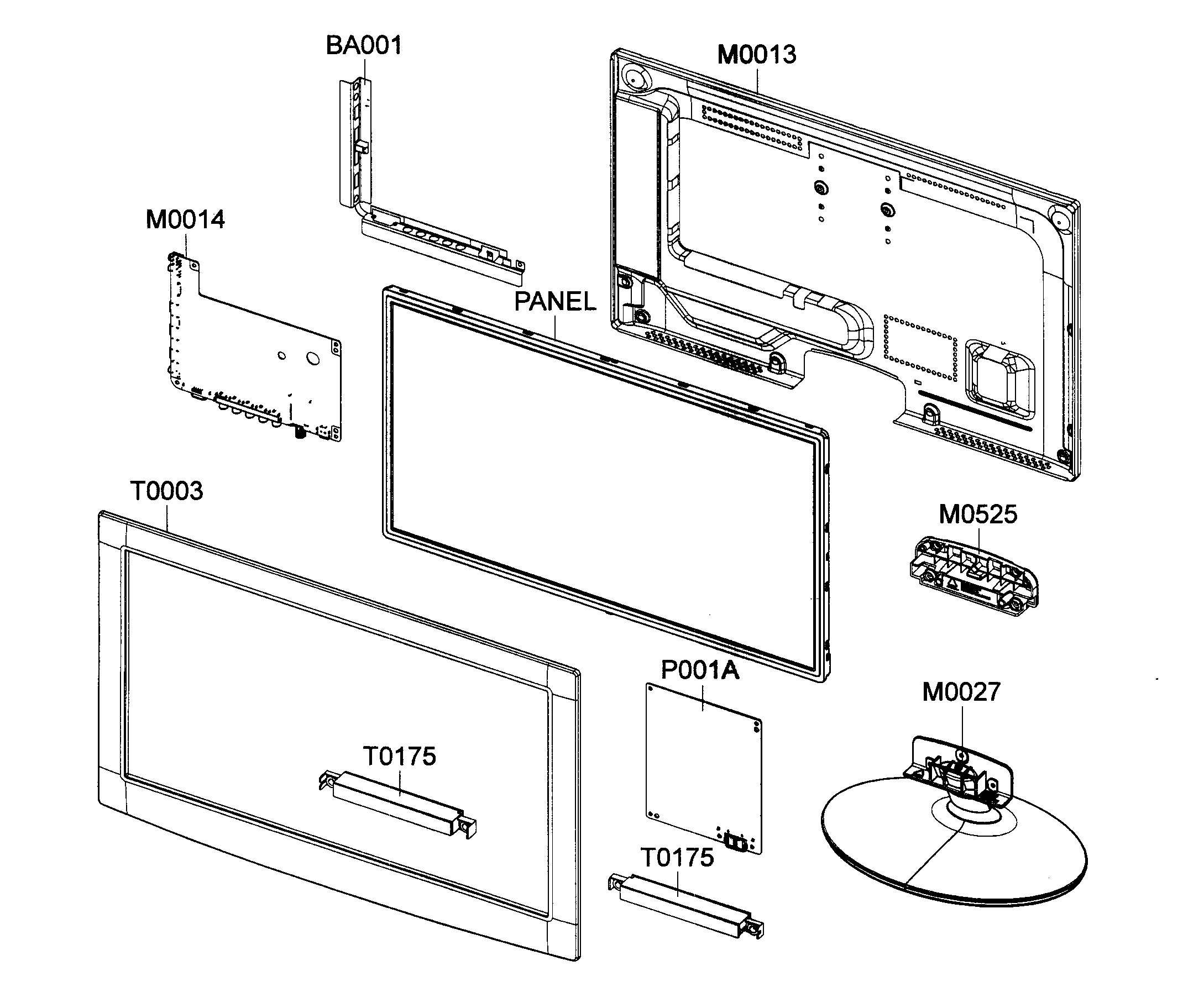 Samsung Tv Replacement Parts Manual Pictures to Pin on