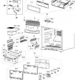 samsung rf217acbp xaa 00 freezer assy diagram [ 1353 x 1809 Pixel ]