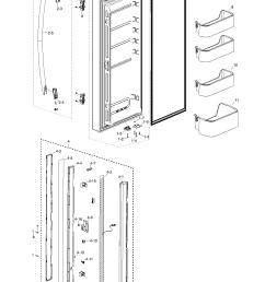 samsung rf217acbp xaa 00 refrig l door diagram [ 1278 x 1770 Pixel ]