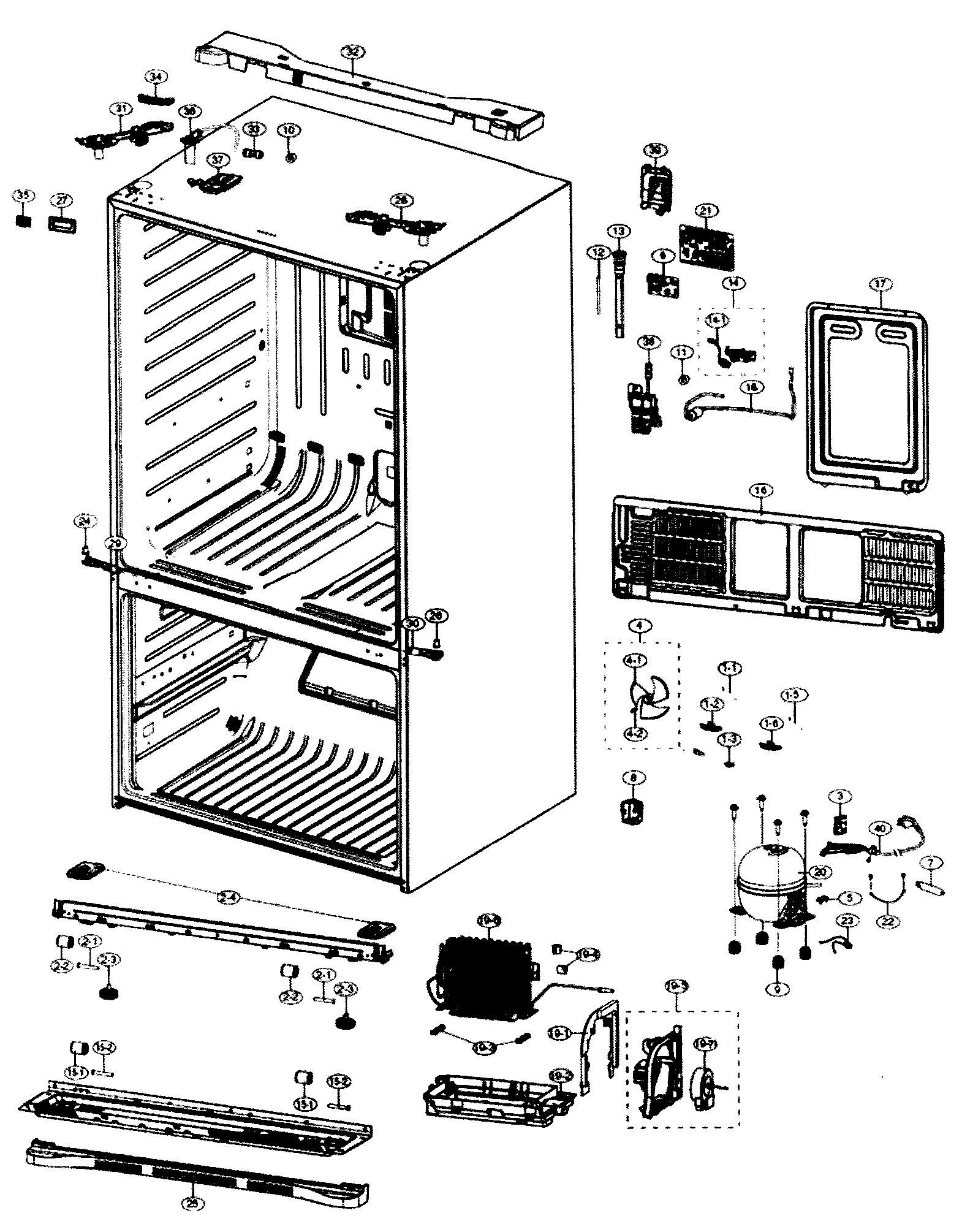 Samsung Refrigerator Parts List