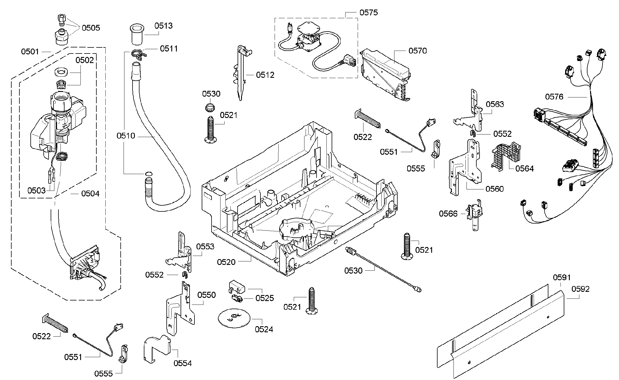 Bosch Dishwasher Parts: Bosch Dishwasher Parts Diagrams