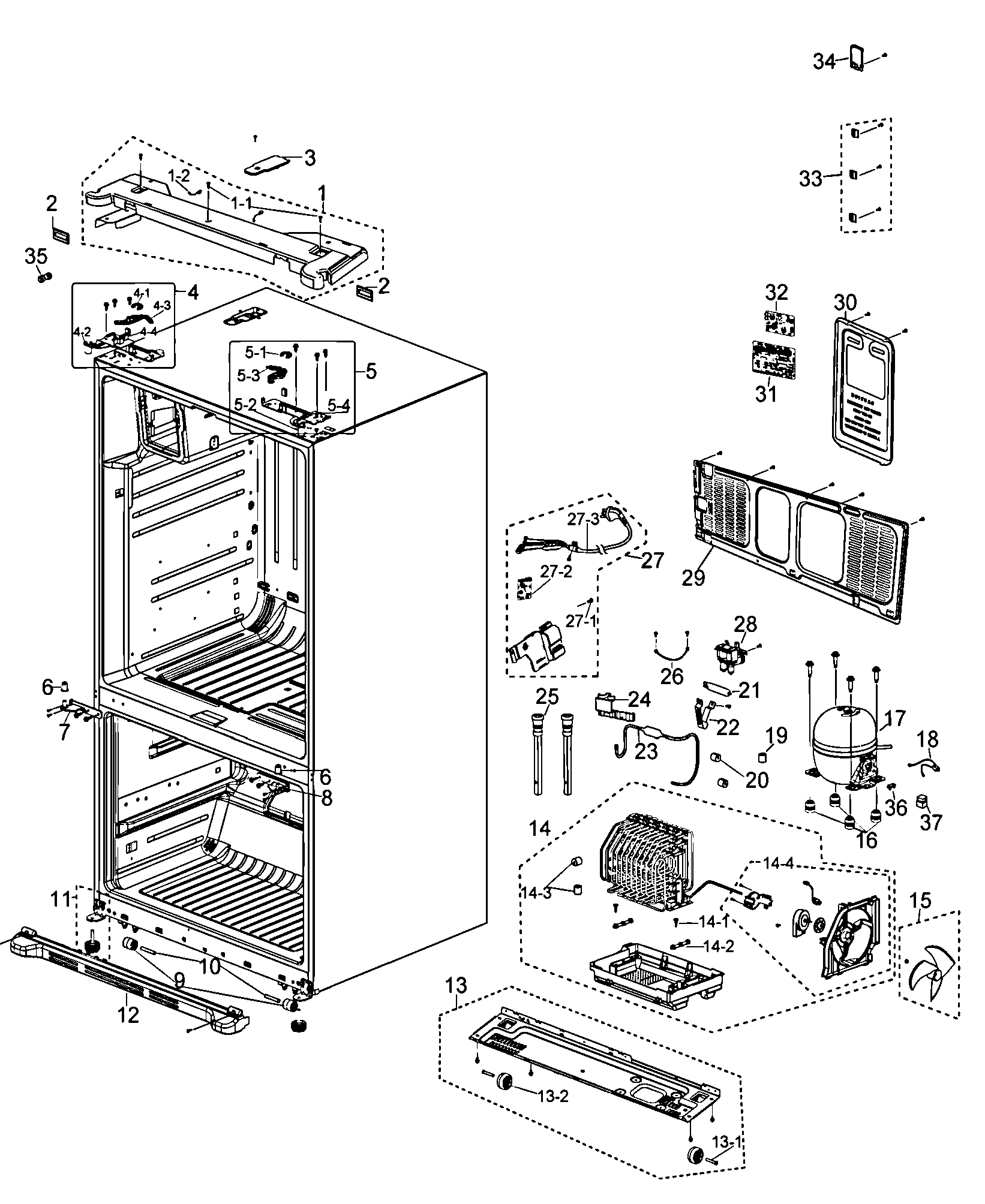 Samsung Refrigerator Wiring Schematic Auto Electrical Diagram For Related With