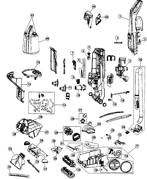small resolution of wiring diagram of hoover carpet cleaner