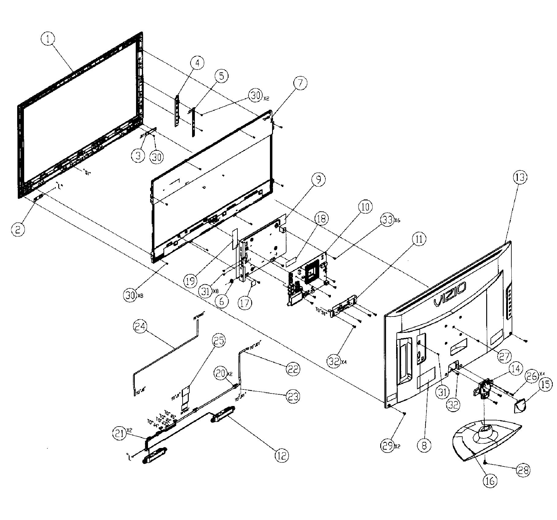 Vizio Tv Schematics Download Flat Screen TV Schematics