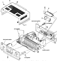 sony str dh520 cabinet parts diagram [ 2545 x 2299 Pixel ]