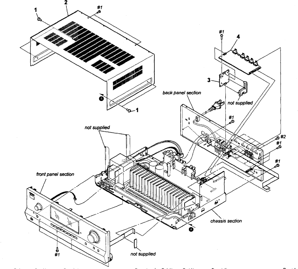 medium resolution of sony str dh520 cabinet parts diagram