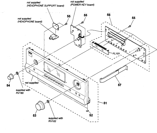 small resolution of sony str dh520 front panel diagram