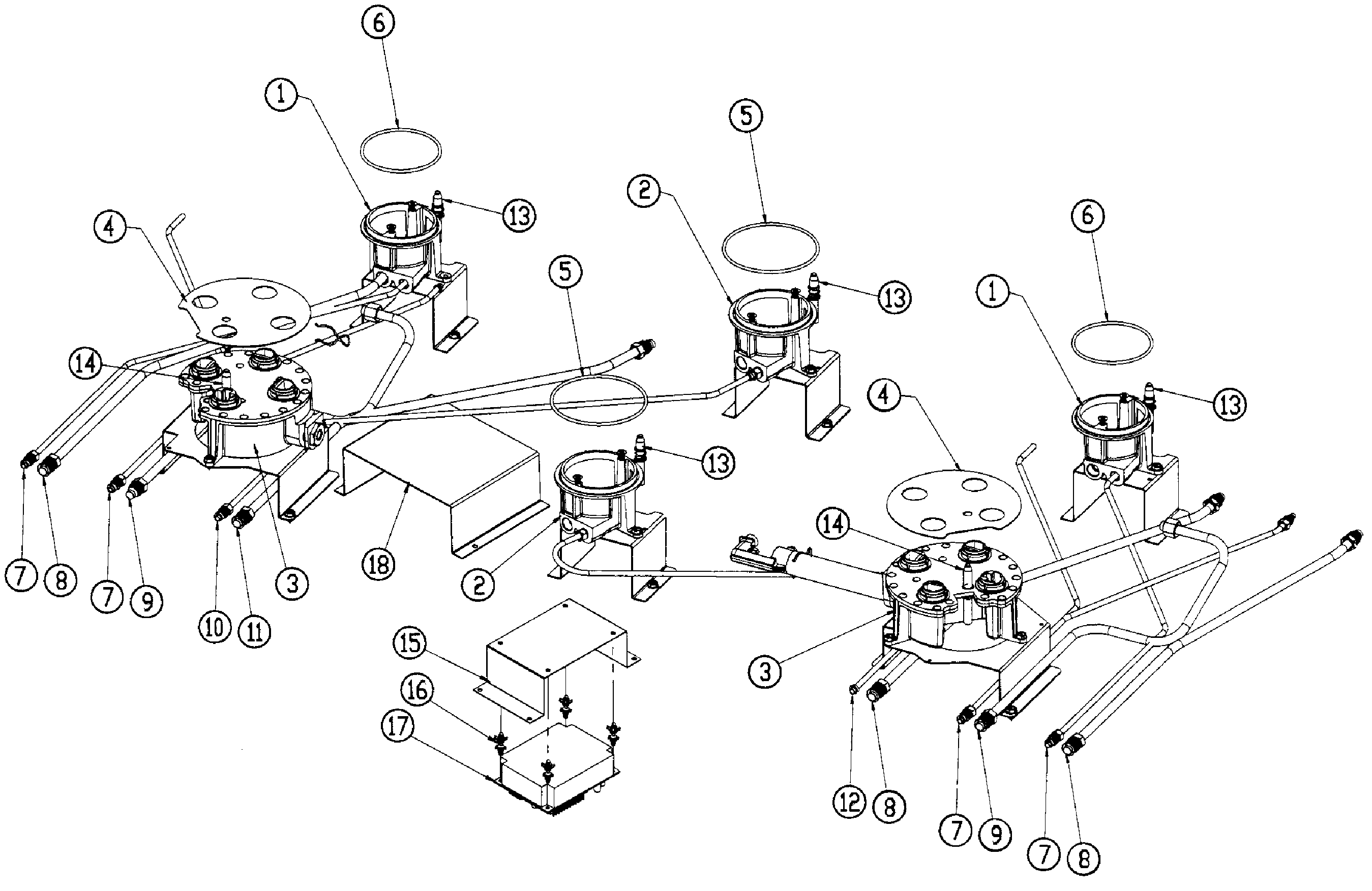 IGNITER ASSY Diagram & Parts List for Model ER48DSCHLP