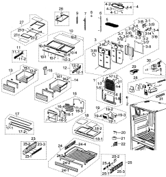 samsung refrigerator wiring diagram rfg297aars wiring library [ 2545 x 2604 Pixel ]