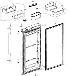 samsung refrigerator wiring diagram rfg297aars [ 2542 x 2595 Pixel ]