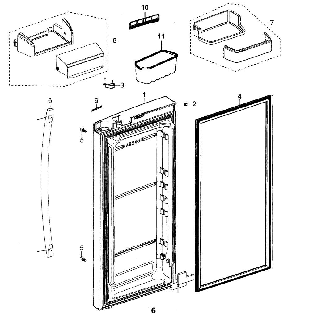 medium resolution of samsung refrigerator wiring diagram rfg297aars