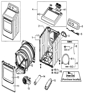 SAMSUNG DRYER Parts | Model dv5451aewxaa0001 | Sears