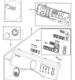 samsung dv219aew xaa 00 control panel diagram [ 2508 x 2751 Pixel ]