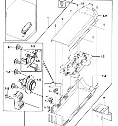 samsung dv219aew xaa 00 heater diagram [ 2463 x 2783 Pixel ]