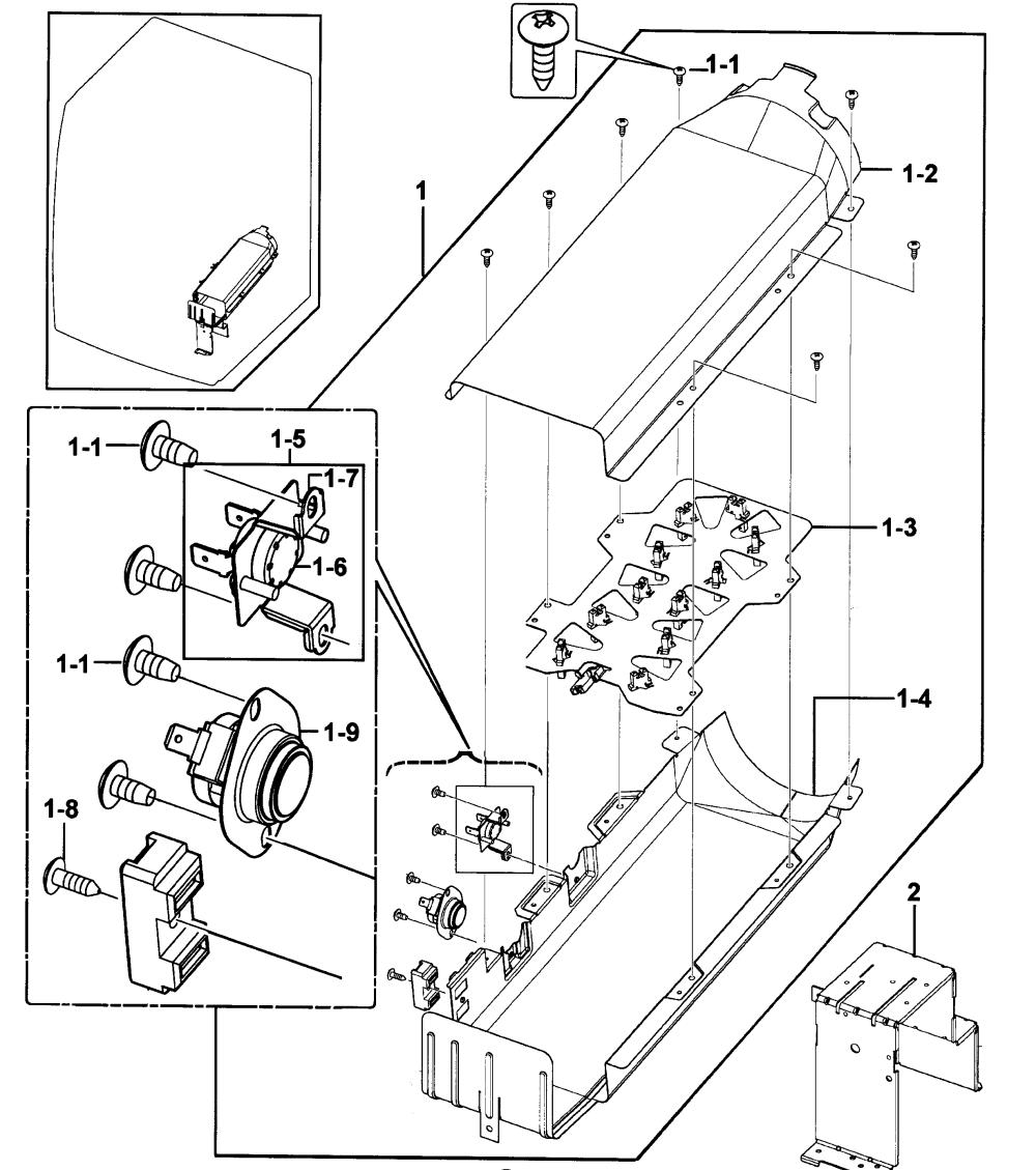 medium resolution of samsung dv219aew xaa 00 heater diagram