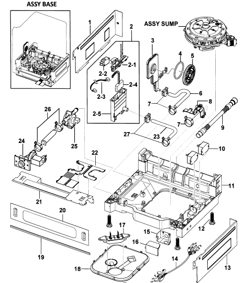 small resolution of  wrg 6251 samsung dishwasher wiring diagram