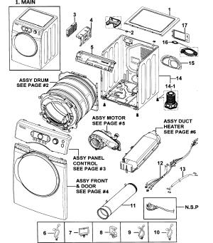 SAMSUNG DRYER Parts | Model DV328AEWXAA0000 | Sears