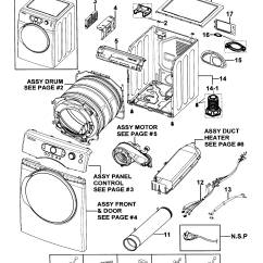 Samsung Dryer Wiring Diagram Ford Serpentine Belt 2002 Parts Model Dv328aerxaa Sears Partsdirect