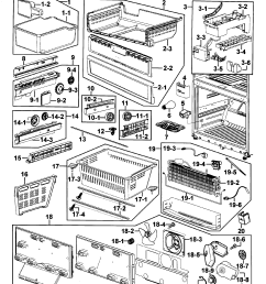samsung rf265abwp xaa 00 freezer diagram [ 2395 x 2734 Pixel ]