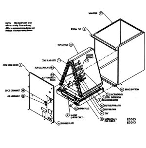 ICP UPFLOWDOWNFLOW TXV CASED COILS Parts | Model
