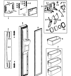 samsung refrigerator rs264absh wiring diagram wiring diagram explained true refrigerator wiring diagram samsung model rs264absh xaa [ 2395 x 2678 Pixel ]