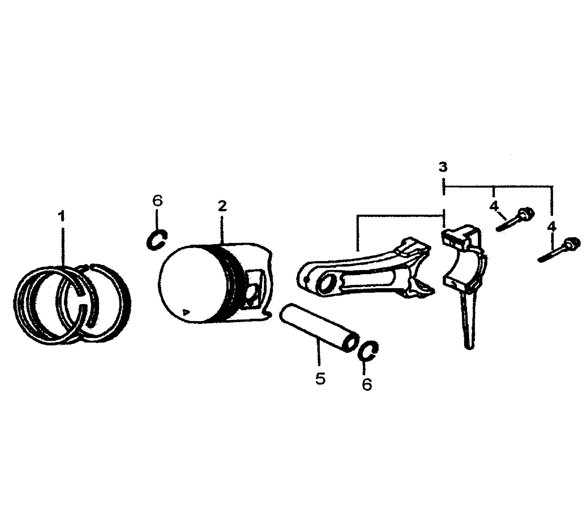 hight resolution of generac gp7500e 5943 0 piston rod assy diagram
