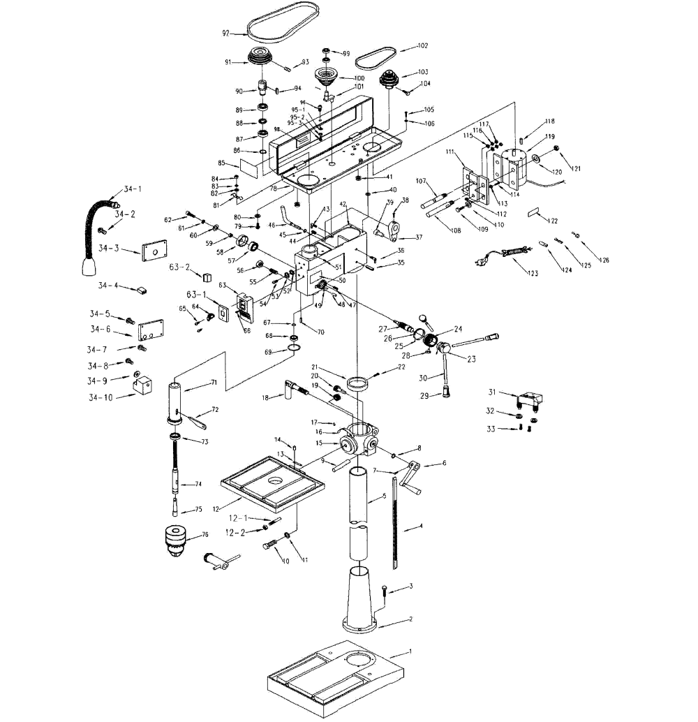 medium resolution of drill press