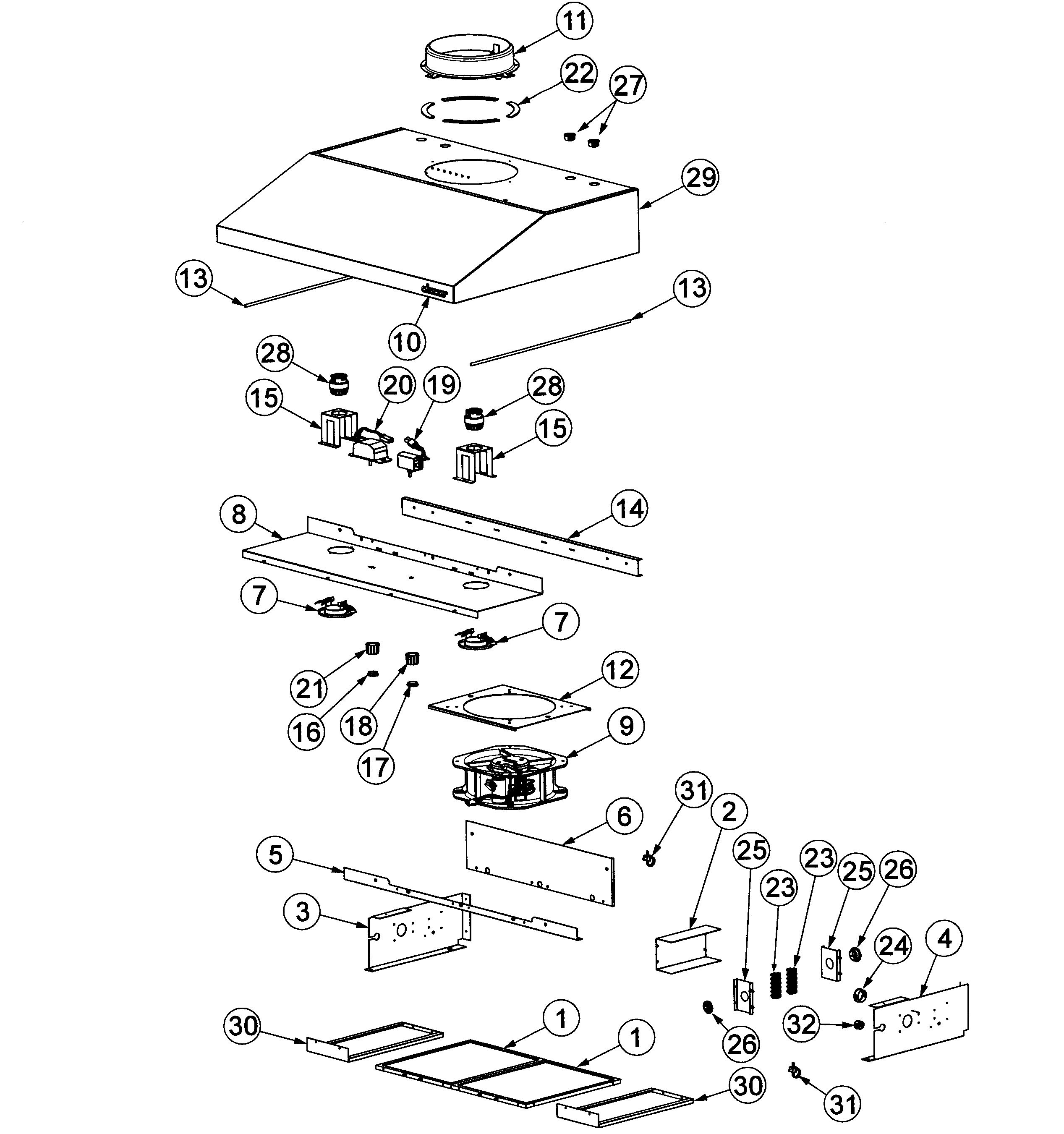 broan range hood wiring diagram 2007 kia spectra radio nutone vent replacement parts engine and